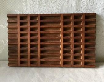Vintage Dansk Designs IHQ Lattice Trivet Staved Teak Wood International Jen Quistgaard