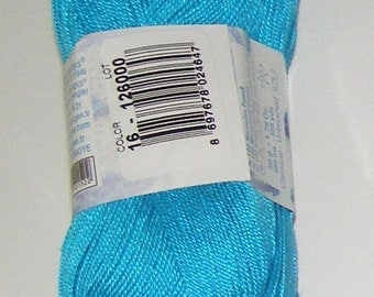 Alize Miss crochet thread size 10, 100% mercerized cotton, #16 blue