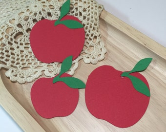 Back to School Confetti ....Apples and Crayons Party Table Decorations Back To School Confetti Crayons and Apples Confetti