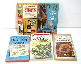 Paperback Cookbook Collection, Vintage Cookbooks