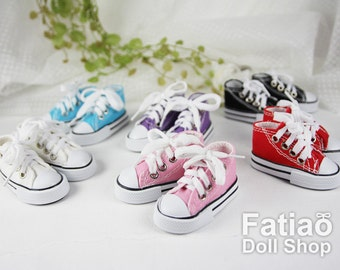Fatiao - 1/3 BJD Super Dollfie SD Lace-Up Cons canvas shoes  (Size 6.8cm)