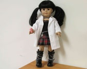 NCIS Abby Sciuto Character outfit  for American Girl Doll or similar Dolls
