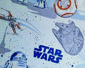 Curtains using Pottery Barn Star Wars Droid fabric