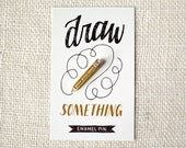 Enamel Pin - Draw Something