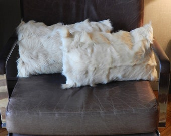 Cute White Goat Cushions