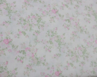 Yuwa French Tiny Roses  on Cream  Cotton Fabric 826226A