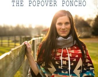 SALE - April Rhodes Popover Poncho Pattern (paper)
