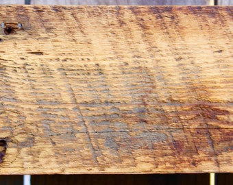 """Reclaimed Barn Wood - Navajo Tribe - 100+ Years - Rustic Wall Decor - Home Decor - Entry - Entryway Living Room - Floating Wall Shelf - 40"""""""