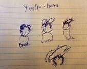 Yveltal Horns
