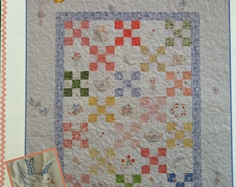 QUILTSY DESTASH PARTY Quilt Pattern  Bluebird