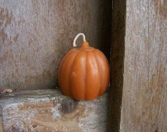 Honey Beeswax Pumpkin Candle