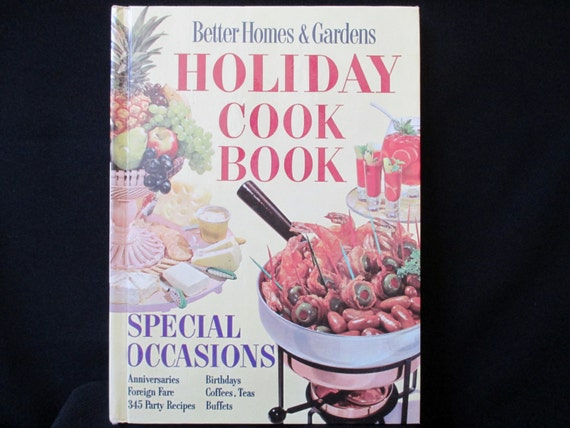 Vintage cookbook better homes and gardens holiday cookbook Better homes and gardens christmas special