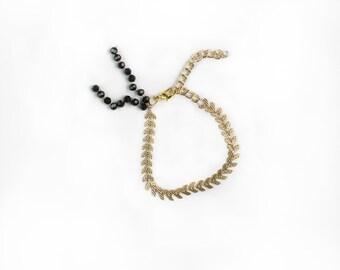 Ivy Chain Bracelet