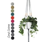LINEA | Large Hanging Planter No.1 | Modern Macrame | MORE COLORS