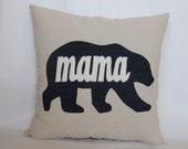 Mama Bear Pillow