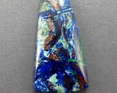 Azurite Malachite Cuprite Designer Cabochon (Arizona)