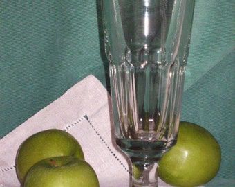 Vintage Footed Soda Fountain Glass