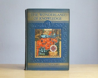 Antique Wonderland of Knowledge Encyclopedia Volume XIV Our Continent