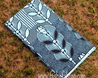 West African Wax Cotton Print Fabric - African Ankara Fabric - Aburo
