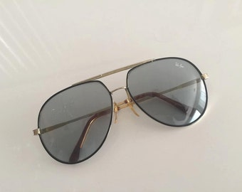 Vintage 70's Rayban Aviator Sunglasses -- Cool -- Hipster 1970's