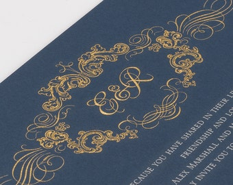 Perfect Pair wedding invitations