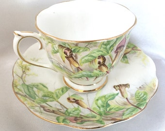 Vintage Royal Albert Jack in the Pulpit tea cup and saucer