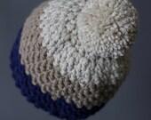 Crochet PATTERN Rainer Beanie Crochet Hat Pattern Includes 6 Sizes Newborn to Adult