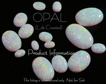 PRODUCT INFORMATION - Opal (Lab created)
