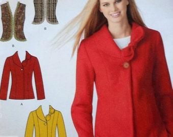 Jacket Sewing Pattern UNCUT Simplicity 2136 Sizes 8-18