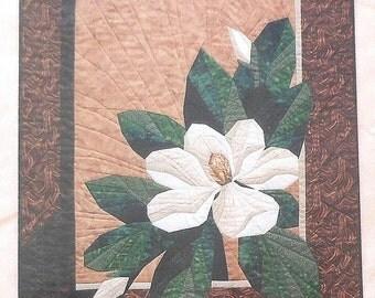 """Magnolia Mini Quilt Sewing Pattern 25"""" x 30"""""""