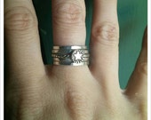 Star Stacking Ring in Sterling Silver