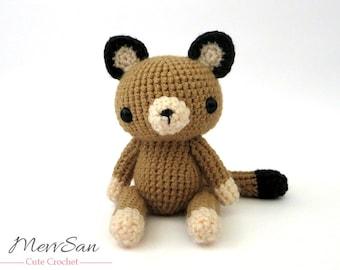Mountain Lion Amigurumi : Crochet PATTERN Amigurumi Pop Tart Cat Nyan Cat Scarf by ...