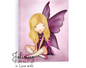 Angel Canvas Art, kids room art, Art for kids room, canvas picture kids room, kids wall art, nursery wall art,Ready to hang picture