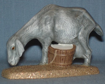 Nubian Goat with Milk Pail 18