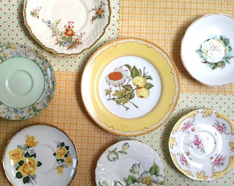 COTTAGE Yellow English Small Plate Collection