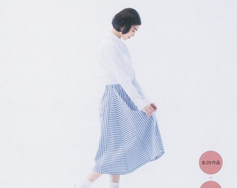 Easy Straight Sewing, Junko Matsushita, Japanese Craft Book, Women Garment, Sewing Tutorial, Comfortable Skirt, Pants, Dress, Blouse, B1807