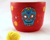 Los Colores - Really Big Yarn Bowl for Chicks with Sticks - Made to Order