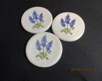 Set of 3 Stoneware Coasters