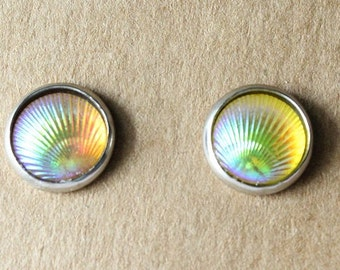 Mermaid Earrings IRIDESCENT-10mm