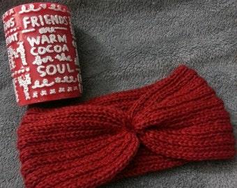 Gorgeous, hand knitted, headband / ear warmer