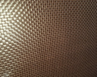 Chocolate Brown  BASKET WEAVE VINYL Upholstery Fabric, 32-60-07-0514AOH