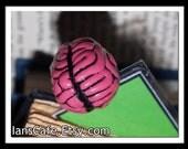 Zombie Wants Brains - Sculptural Bookmark - HORROR GIFT