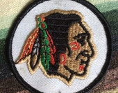 Vintage Indian Chief Patch