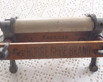 Vintage Miniature Wringer Horseshoe Brand
