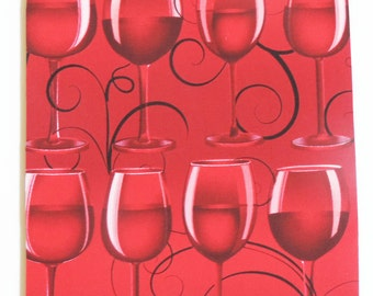 Wine glasses mousepads