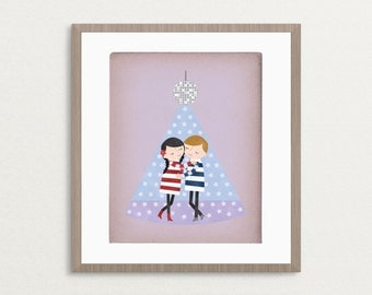 First Dance - Customizable 8x10 Archival Art Print