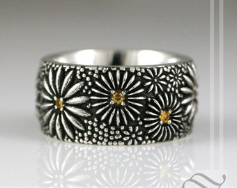 Daisy Daisy Give me your Answer Do - Sterling Silver Ring