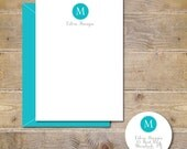 Mother's Day Gift, Personalized, Personalized Stationery, Stationary, Monogram Cards, Personalized Note Cards, Note Card, Gifts For Her