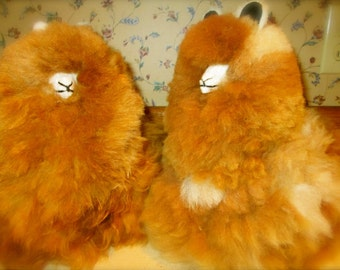 Alpacas Hand Made of ULTRA SOFT Baby Alpaca Absolute Fullest & Fluffiest