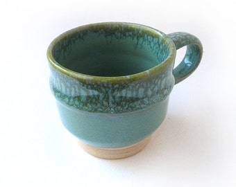 Speckled Green Coffee/Espresso Cup